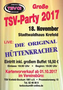TSV Party 2017